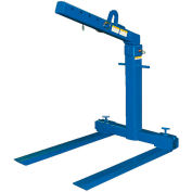 Vestil Overhead Load Lifter Adjustable Forks OLA-2-42 2000 Lb.