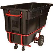 Rubbermaid® 1315-42 Tilt Truck with Fork Lift Pockets 1 Cu Yd 1250 Lb Cap