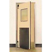 "Aleco® 3'0"" x 7'0"" Single Panel Heavy Duty Beige Impact Door 435022"