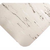 "Antimicrobial Tile Top Antifatigue Mat 1/2"" Thick, 36x60 Gray"