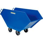 Vestil Steel Chip, Scrap & Waste Truck CHIP-17.5 5/8 Cu. Yd. 1500 Lb. Cap.