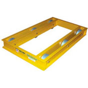 "Vestil Steel Pallet & Machine Dolly ODMD-2436-6 36""L x 24""W 6000 Lb. Cap."