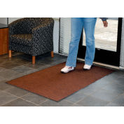 Absorbent Ribbed Mat 36 Inch Cut Size Walnut