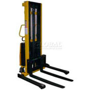 Vestil Battery Operated Lift Stacker SL-118-AA Adj. Forks Inside Adj. Legs