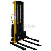 Vestil Battery Operated Lift Stacker SL-118-AA Adj. Forks Inside Adj. Legs