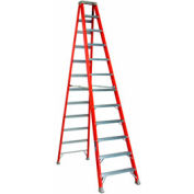 Louisville 12' Fiberglass Step Ladder - 375 lb Cap. - FS1412HD