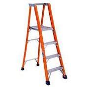 Louisville 8' Fiberglass Platform Step Ladder - 375 lb Cap. - FP1408HD