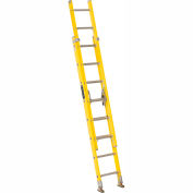 Louisville 16' Fiberglass Extension Ladder - 250 lb Cap. - FE1716