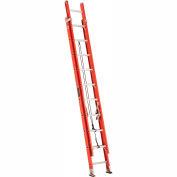Louisville 20' Fiberglass Extension Ladder - 300 lb Cap. - FE322-0