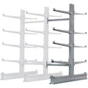 """Cantilever Rack Double Sided Add-On Unit Heavy Duty (2000 Series),48""""W  x 59""""D x 8'H, 26600 Lbs Cap"""