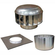 Envira-North Hurricane™ Turbine Ventilator 12 Inch Straight Flue