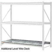 "Additional Level 96""W x 18""D Wire Deck"
