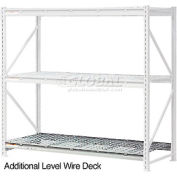 """Global Industrial™ Additional Level 96""""W x 36""""D Wire Deck"""