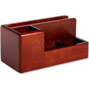 Wood Tones Desk Organizer, Mahogany