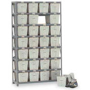 Basket 65910 Rack Locker For 28 Baskets 40x13x70