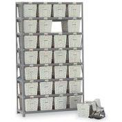 Basket 65800 Rack Locker For 21 Baskets 40x13x70