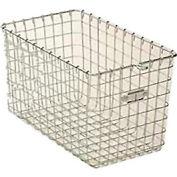 """Steel 9620 Wire Locker Basket 12""""W"""