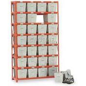 Penco Basket 6593-0 Rack Locker For 32 Baskets 40x13x79
