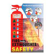 Poster, Fire Extinguisher Safety, 24 x 18