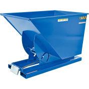 Vestil 1 Cu. Yd. Self-Dumping Steel Hopper with Bump Release D-100-HD 6000 Lb.