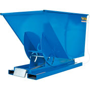 Vestil 1 Cu. Yd. Self-Dumping Steel Hopper with Bump Release D-100-LD 2000 Lb.