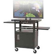 Height Adjustable Flat Panel TV Cart