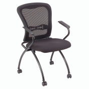 Interion™ - Nesting Mesh Chair - Pkg Qty 2