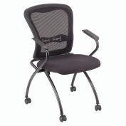 Interion™ - Nesting Mesh Chair - Pkg Qty 2