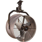 "Jetaire® 24"" Oscillating Vertical Mount Fan With Poly Housing 1 HP, 230V, 3PH, 5900 CFM"