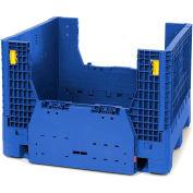 Plastic Folding Bulk Shipping Container BC4845-34 48x45x34 2000 lb. Capacity