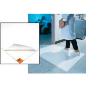 """Clean Room Mat 18""""X36"""" White Case Of 4"""