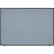"Office Partition Panel, 60-1/4""W x 42""H, Blue"