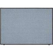 "Interion® Office Partition Panel, 60-1/4""W x 42""H, Blue"