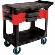 Rubbermaid® 6180 Black Trades Cart