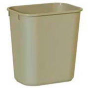 Rubbermaid® Soft Molded Plastic Wastebasket - 13-5/8 Qt.