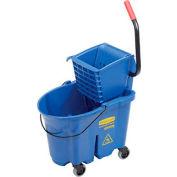 Rubbermaid WaveBrake® Side Press Mop Bucket & Wringer Combo - Blue