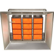 SunStar Propane Heater Infrared Ceramic, SG10-L, 100000 Btu