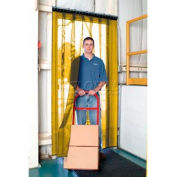Aleco® Air-Flex® Yellow Insect Barrier & Bug Curtain 405049 4'W x 8'H