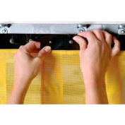 "Replacement Aleco® Air-Flex® Yellow Insect Barrier Strip 400717 8""W x 7'H"