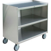 Jamco Stainless Steel Mobile Cabinet YC118 with 3 Shelves