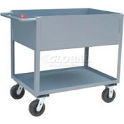 Jamco Extra Deep Shelf All Welded Steel Service Cart NB130 2000 Lb. Cap.