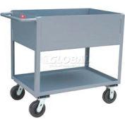 Jamco Extra Deep Shelf All Welded Steel Service Cart NB136 2000 Lb. Cap.