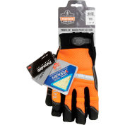 Ergodyne® ProFlex® 876WP Hi-Vis Thermal Waterproof Work Gloves, Orange, Large