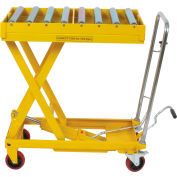Wesco® Mobile Lift 273269 with 32-1/2 x 19-1/2 Conveyor Table Top 770 Lb.