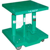 "Lexco-Wesco Lift Table 492202 30""L x 30""W 2000 Lb. Capacity"