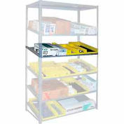 """Sloped Flow Shelving Additional Level 36""""W x 18""""D Gray"""