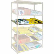 """Sloped Flow Shelving Additional Level 48""""W x 24""""D Tan"""