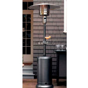 Hiland Patio Heater HLDS01-CBT Propane 41000 BTU With Table Silver