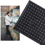 """Deep Freeze Rubber Antifatigue Mat 3' X 60' 3/8"""" Thick Black"""