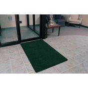 """Rubber Backed Barrier Rib Entrance Mat 3 Wide Up To 60ft 3/8"""" Thick Hunter Green"""